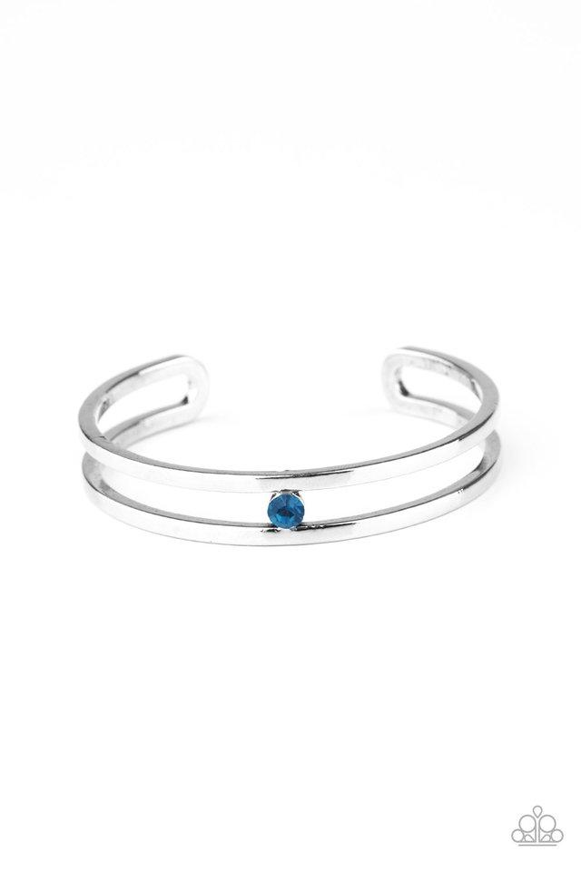 Solo Artist - Blue - Paparazzi Bracelet Image