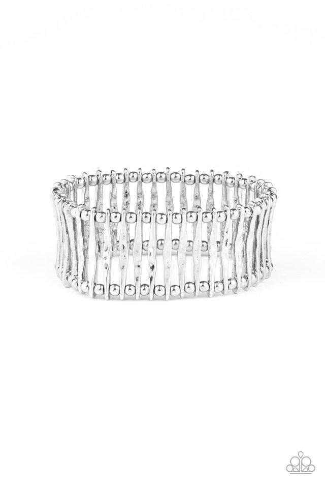 Rustic Rebellion - Silver - Paparazzi Bracelet Image