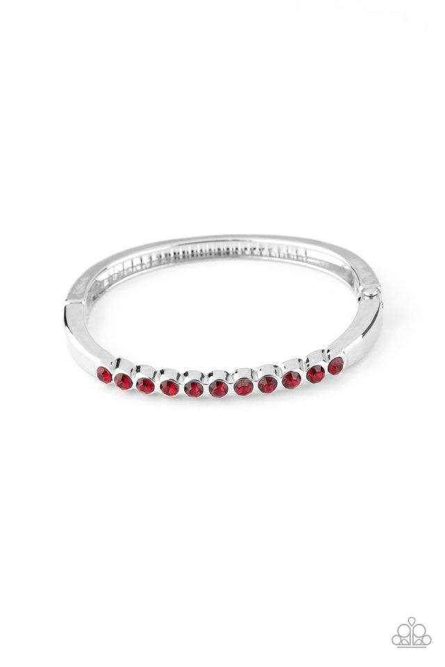 Stellar Beam - Red - Paparazzi Bracelet Image