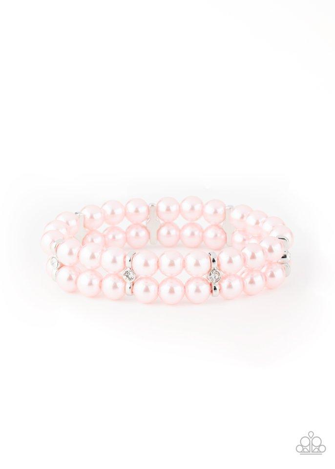 Downtown Debut - Pink - Paparazzi Bracelet Image