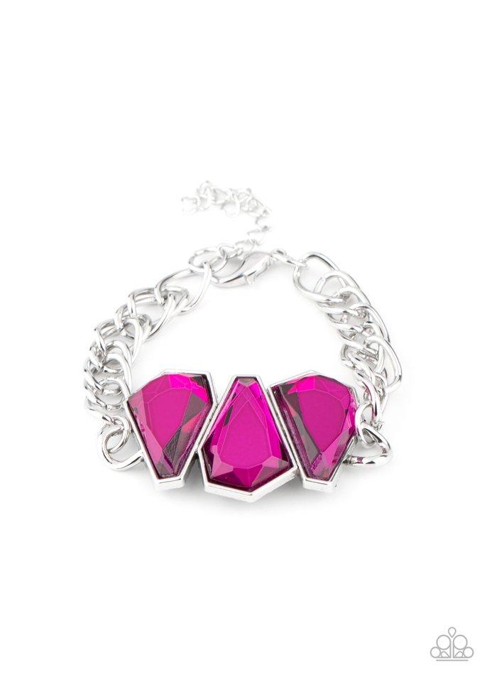Raw Radiance - Pink - Paparazzi Bracelet Image