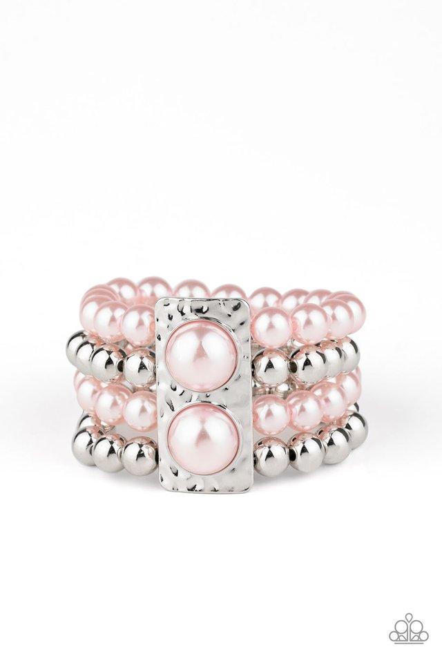 WEALTH-Conscious - Pink - Paparazzi Bracelet Image