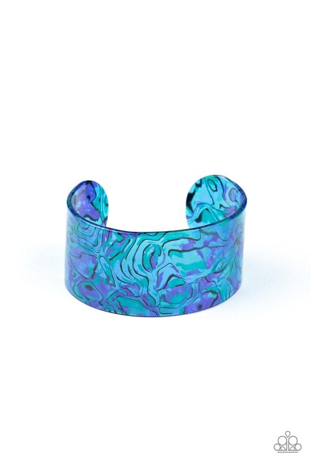 Cosmic Couture  - Blue - Paparazzi Bracelet Image