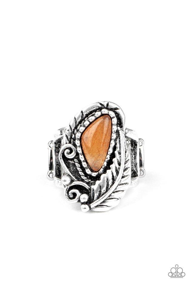 Palm Princess - Orange - Paparazzi Ring Image