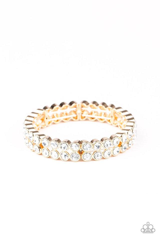 Come and Get It! - Gold - Paparazzi Bracelet Image