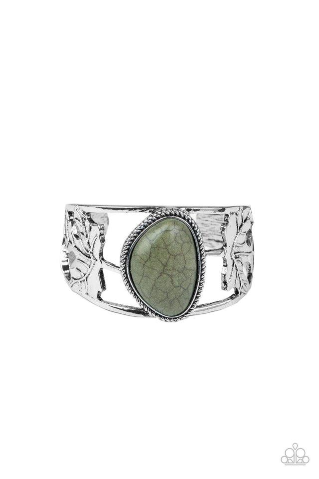 Sahara Seasons - Green - Paparazzi Bracelet Image