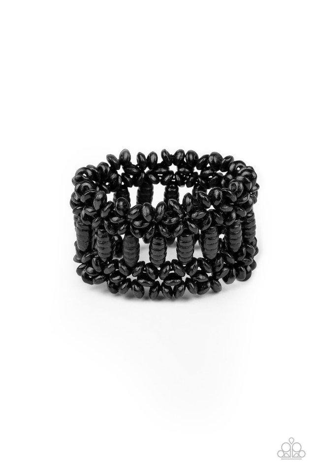 Fiji Flavor - Black - Paparazzi Bracelet Image