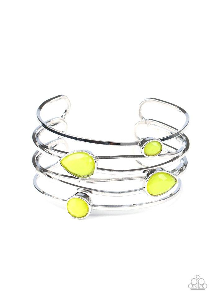 Fashion Frenzy - Yellow - Paparazzi Bracelet Image