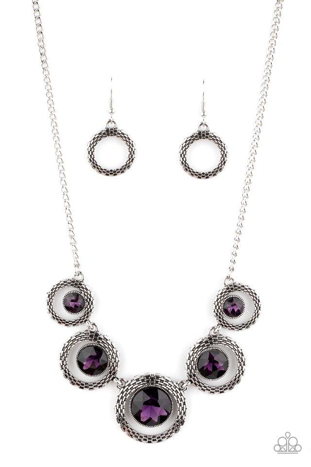 PIXEL Perfect - Purple - Paparazzi Necklace Image