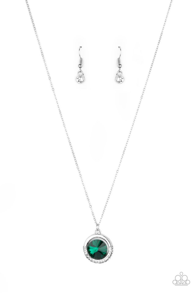 Trademark Twinkle - Green - Paparazzi Necklace Image