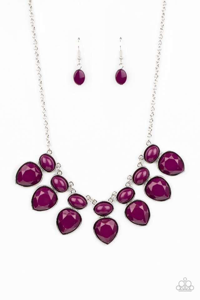 Modern Masquerade - Purple - Paparazzi Necklace Image