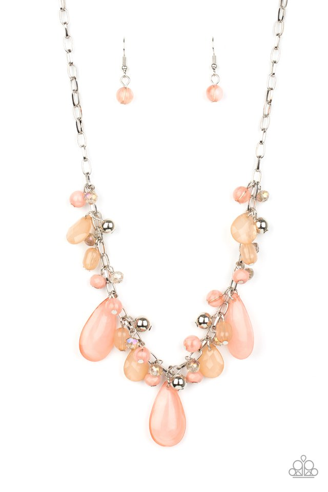 Seaside Solstice - Pink - Paparazzi Necklace Image
