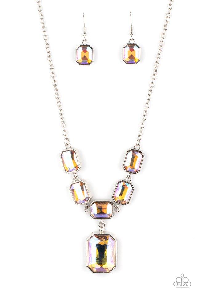 Million Dollar Moment - Yellow - Paparazzi Necklace Image