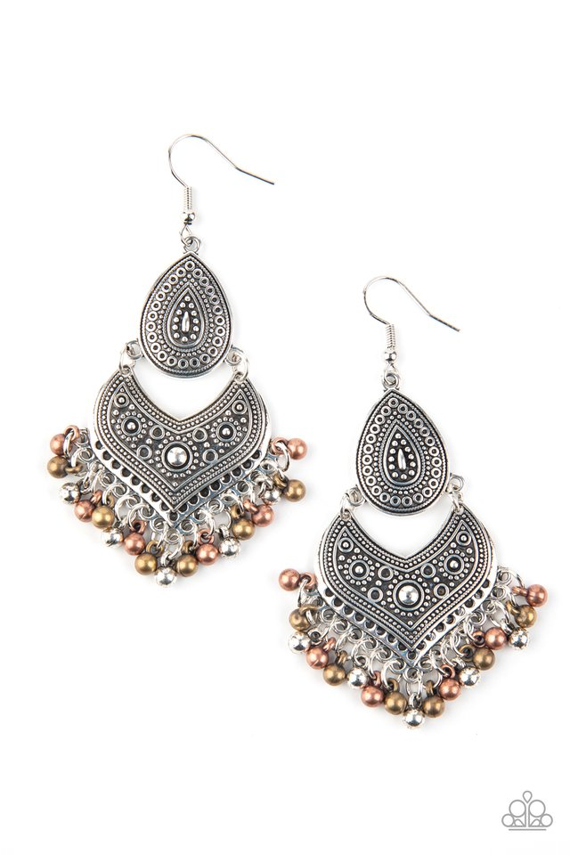 Music To My Ears - Multi - Paparazzi Earring Image
