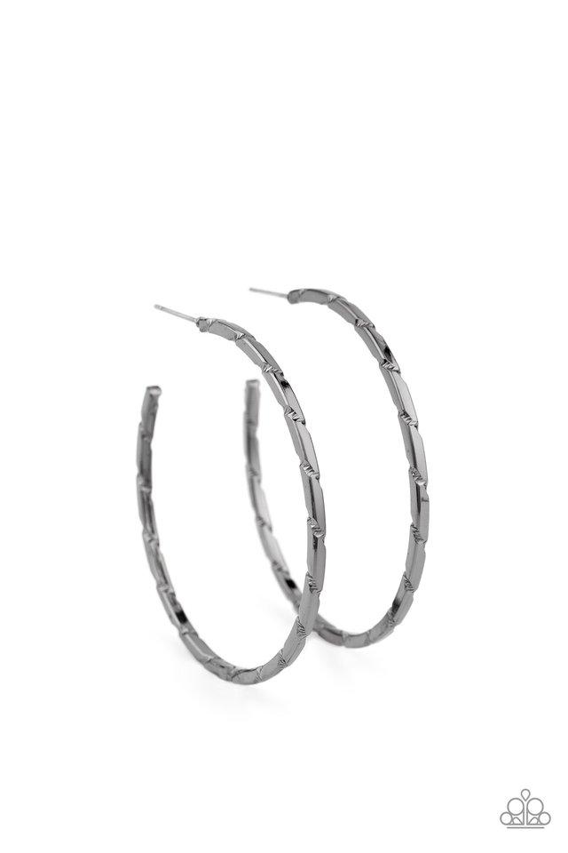 Unregulated - Black - Paparazzi Earring Image