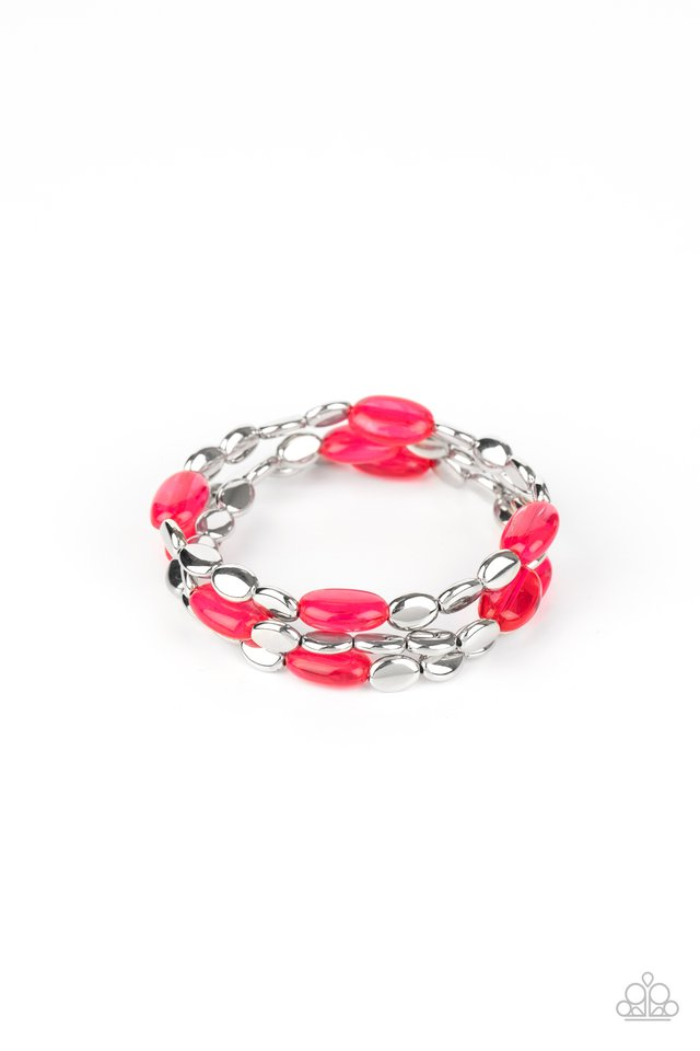 Sorry to Burst Your BAUBLE - Pink - Paparazzi Bracelet Image