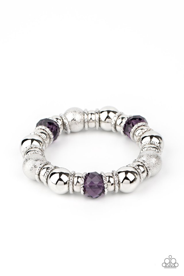 Take Your Best Shot - Purple - Paparazzi Bracelet Image