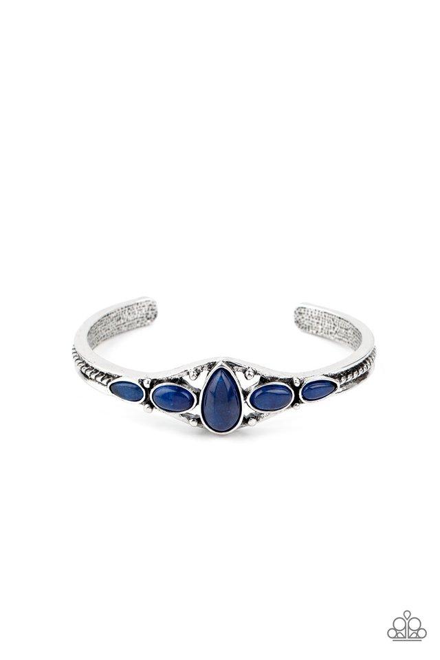 Dream Beam - Blue - Paparazzi Bracelet Image