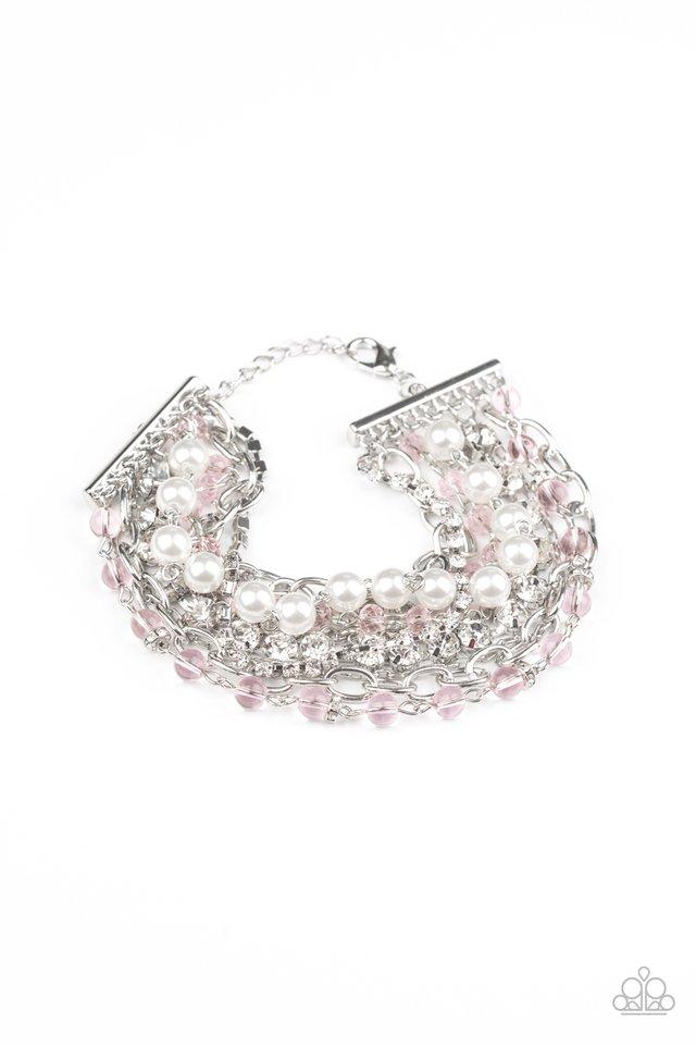Heiress Hustle - Pink - Paparazzi Bracelet Image