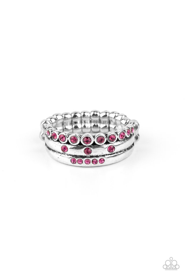 The Next Level - Pink - Paparazzi Ring Image