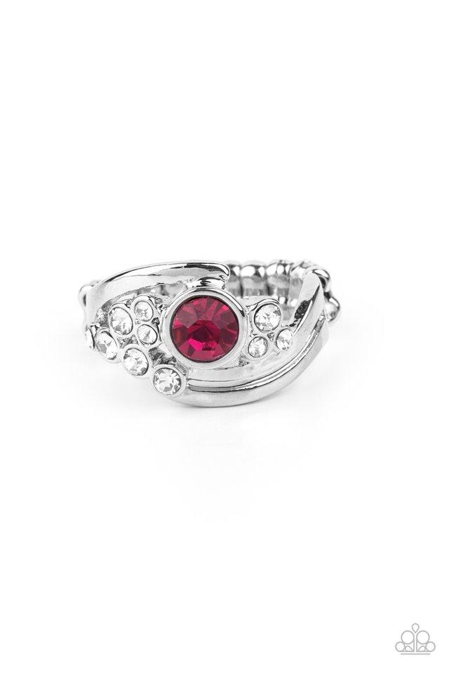 GLOW a Fuse - Pink - Paparazzi Ring Image