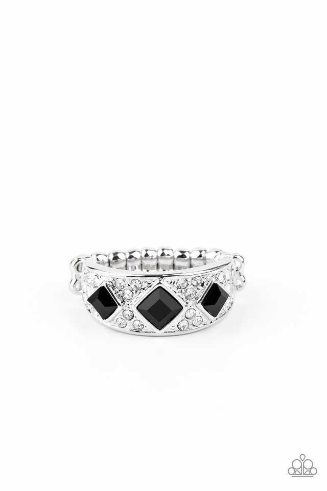 New Age Nouveau - Black - Paparazzi Ring Image