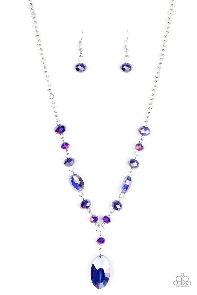 Fashionista Week - Blue - Paparazzi Necklace Image