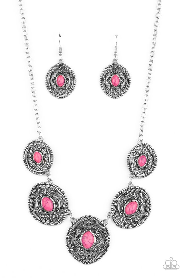Alter ECO - Pink - Paparazzi Necklace Image