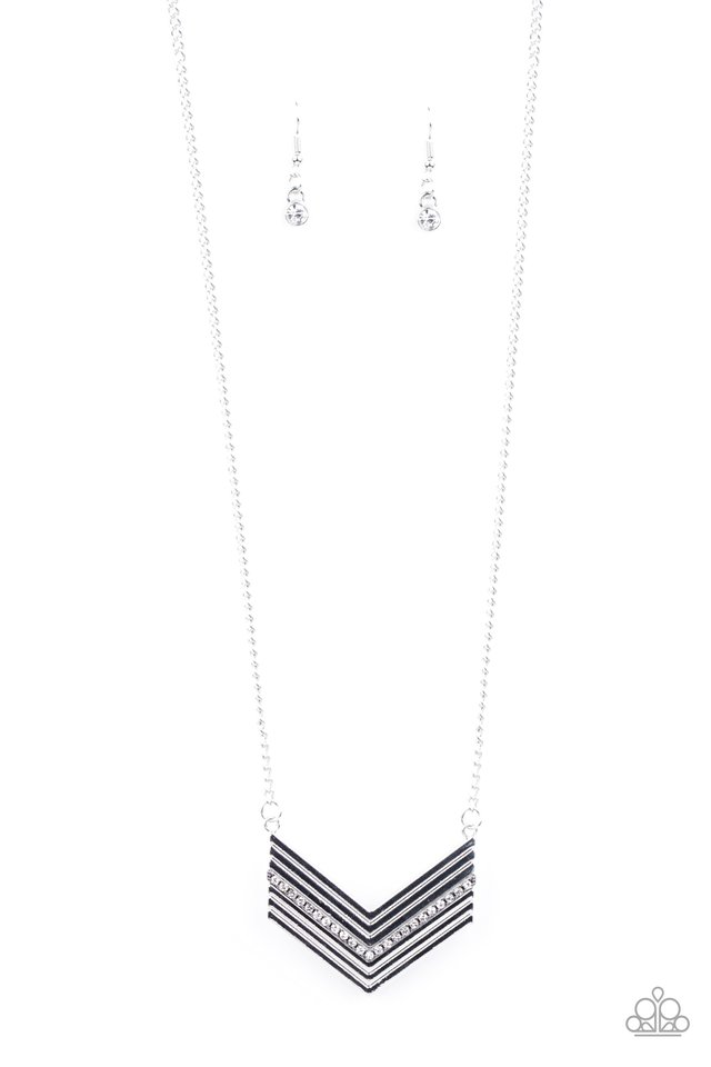 Armed and FABULOUS - White - Paparazzi Necklace Image