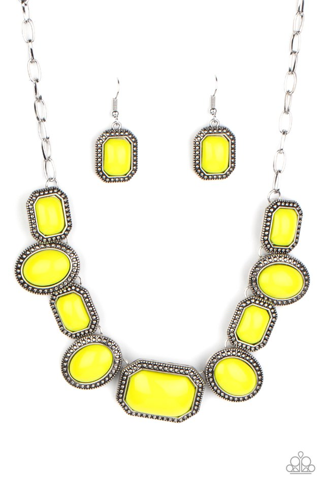 Lets Get Loud - Yellow - Paparazzi Necklace Image