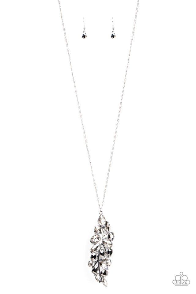Take a Final BOUGH - Silver - Paparazzi Necklace Image