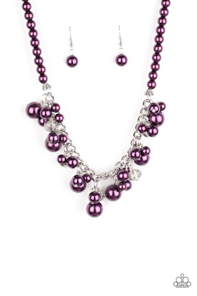 Prim and POLISHED - Purple - Paparazzi Necklace Image