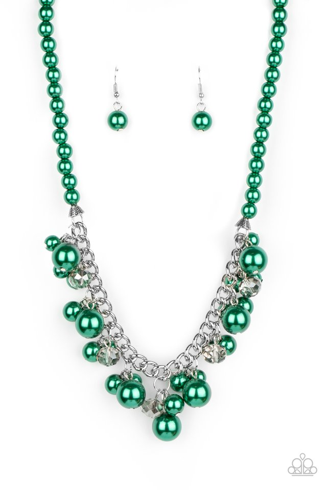 Prim and POLISHED - Green - Paparazzi Necklace Image