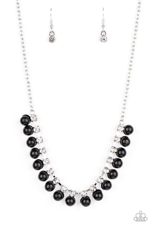 Frozen in TIMELESS - Black - Paparazzi Necklace Image