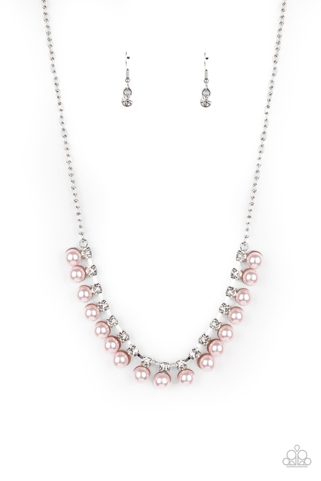 Frozen in TIMELESS - Pink - Paparazzi Necklace Image