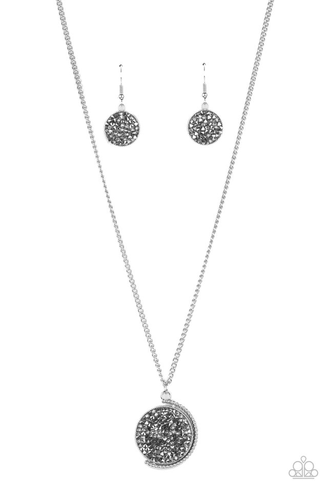 My Moon and Stars - Silver - Paparazzi Necklace Image