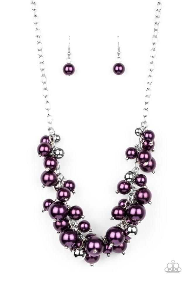 Uptown Upgrade - Purple - Paparazzi Necklace Image