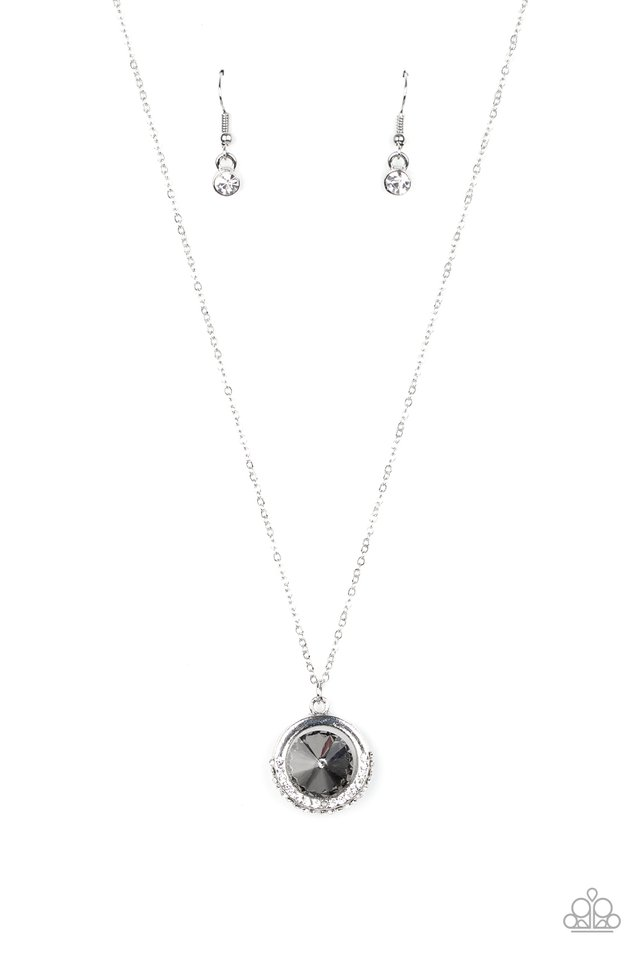 Trademark Twinkle - Silver - Paparazzi Necklace Image