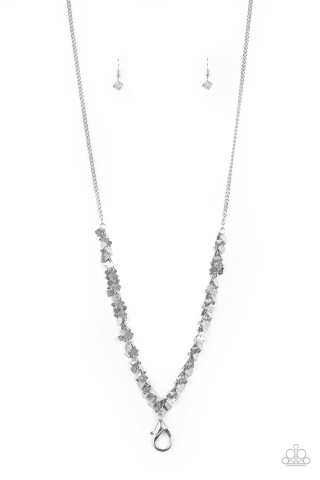 Be Heard - Silver - Paparazzi Necklace Image