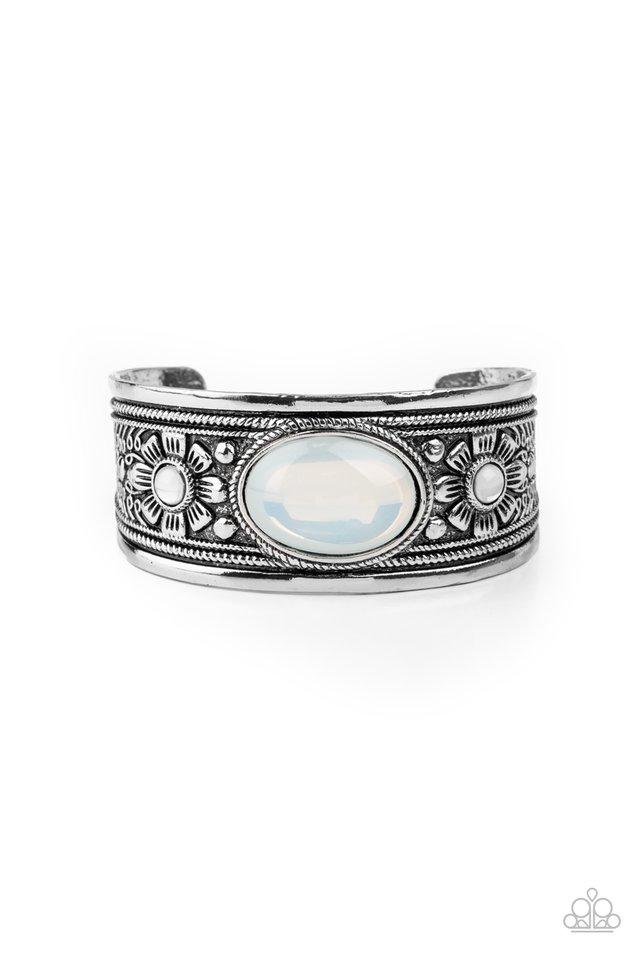 Sage Sanctuary - White - Paparazzi Bracelet Image