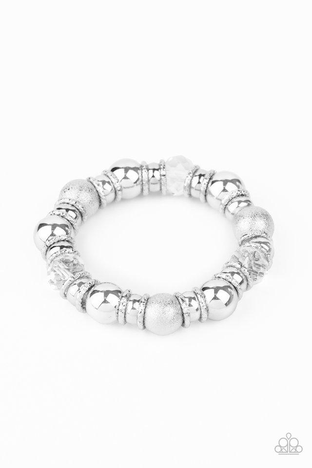 Take Your Best Shot - White - Paparazzi Bracelet Image
