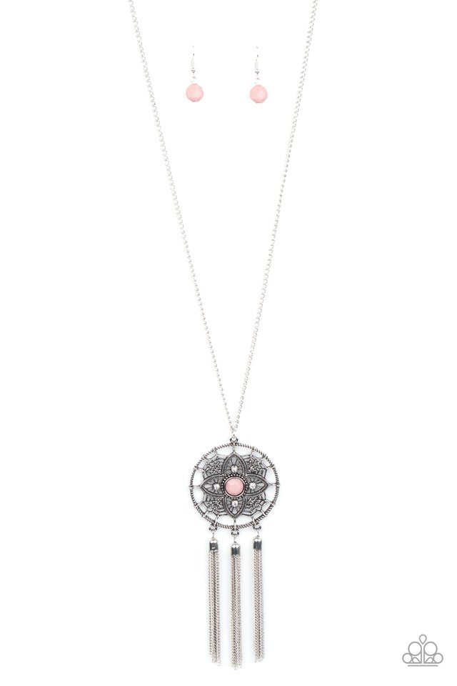 Chasing Dreams - Pink - Paparazzi Necklace Image