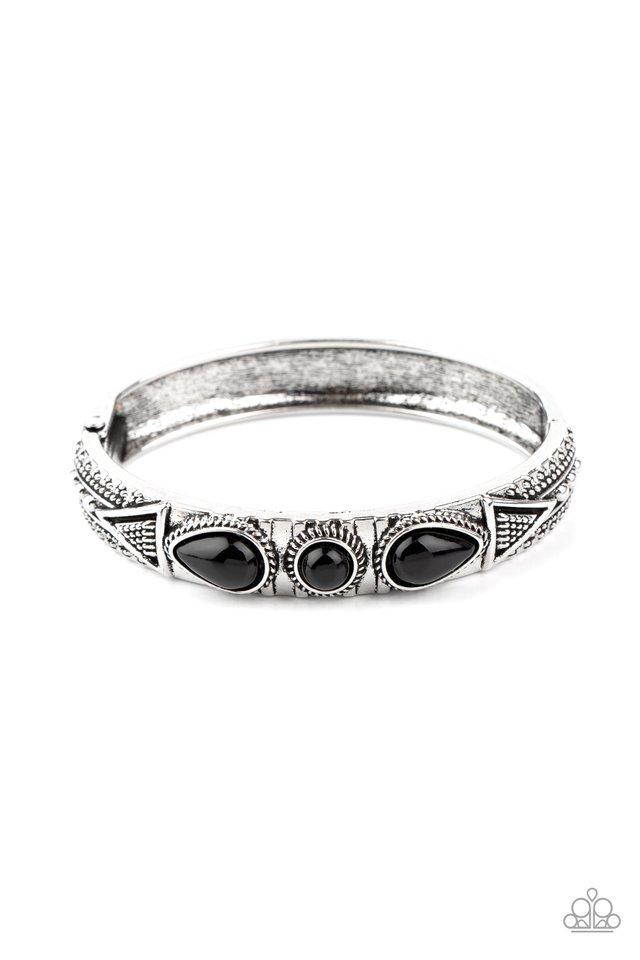 Radiant Ruins - Black - Paparazzi Bracelet Image