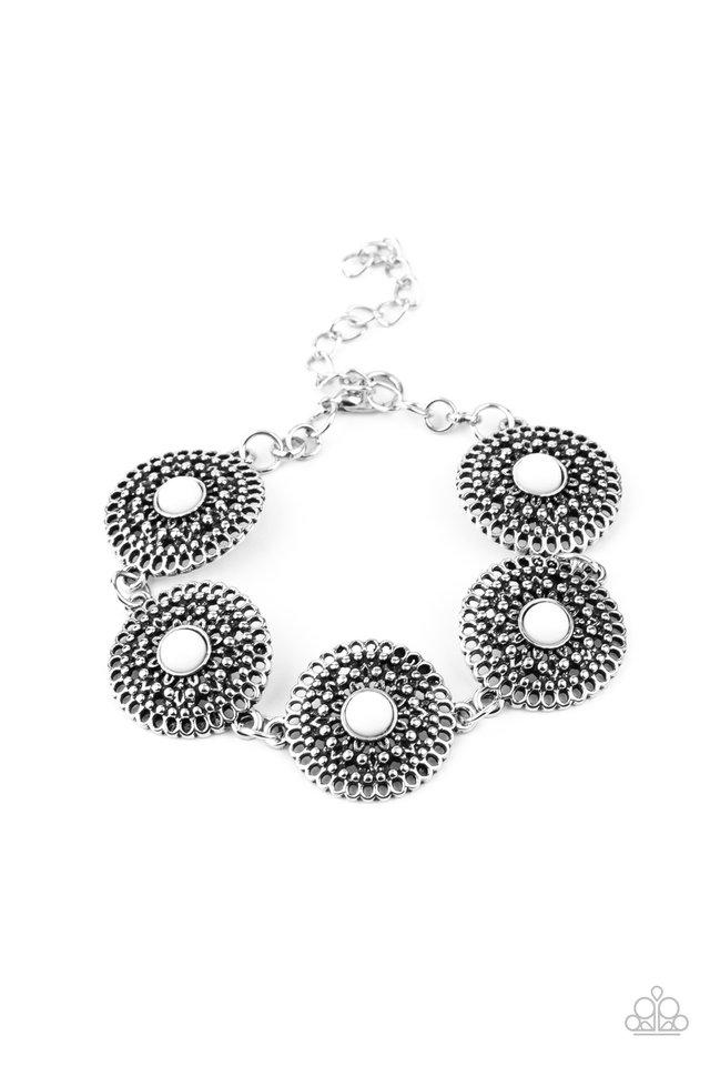 Mojave Mandalas - White - Paparazzi Bracelet Image