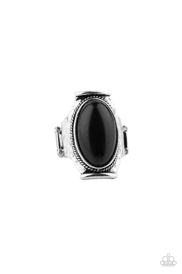 Desert Healer - Black - Paparazzi Ring Image