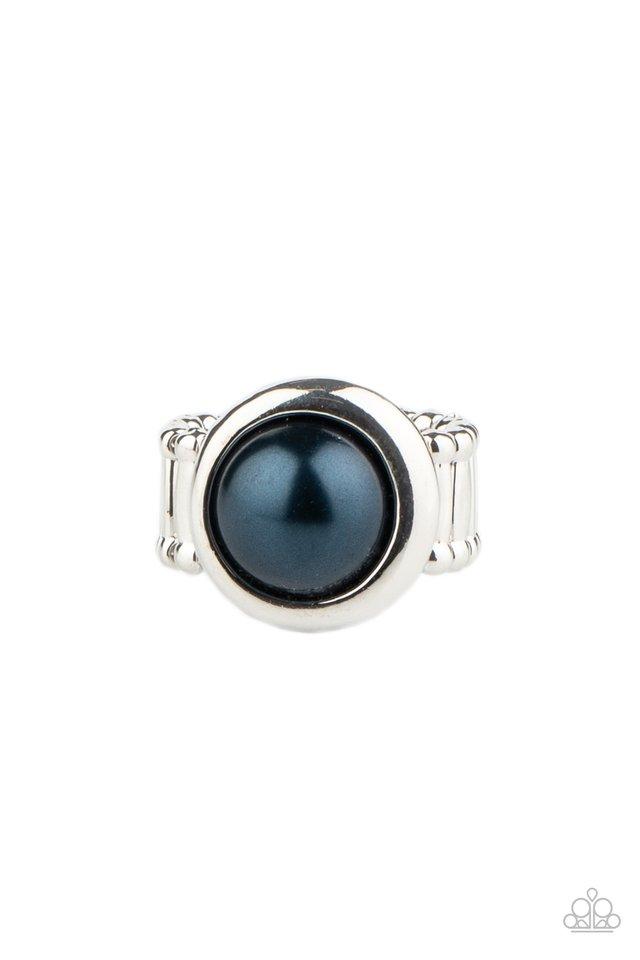 Prim and PROSPER - Blue - Paparazzi Ring Image