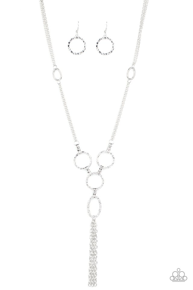 Metro Mechanics - Silver - Paparazzi Necklace Image