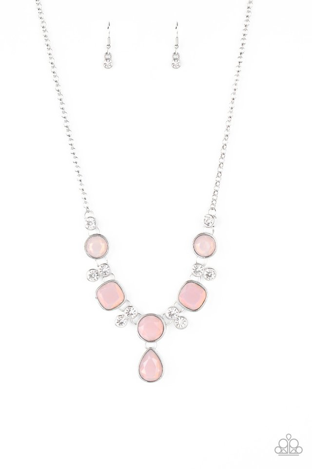 Crystal Cosmos - Pink - Paparazzi Necklace Image