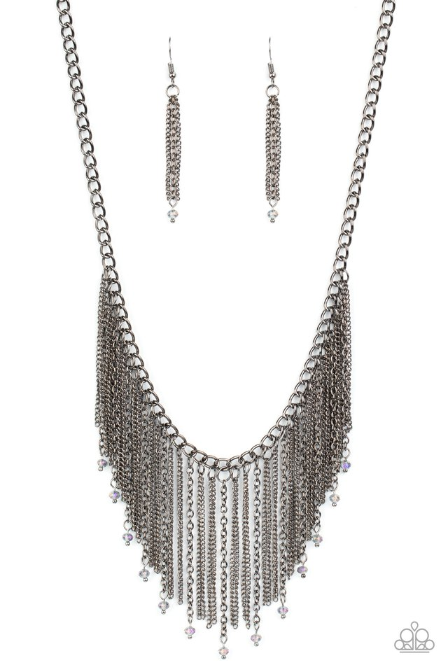 Cue The Fireworks - Multi - Paparazzi Necklace Image