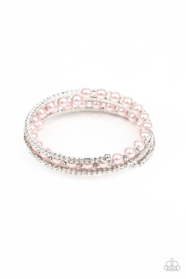 Starry Strut - Pink - Paparazzi Bracelet Image